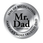 mr, dad silver seal of recognition