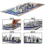 city of new york time puzzle from 4dcityscape