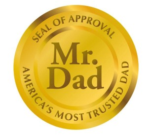 mr. dad seal of approval