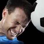 heading soccer ball can cause brain damage