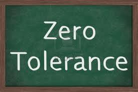 Zero Tolerance for Zero Tolerance, Part II