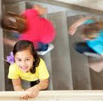 child safety - stairs are the most dangerous play area of all