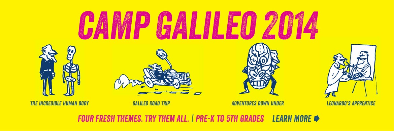 Camp Galileo 2014 Locations