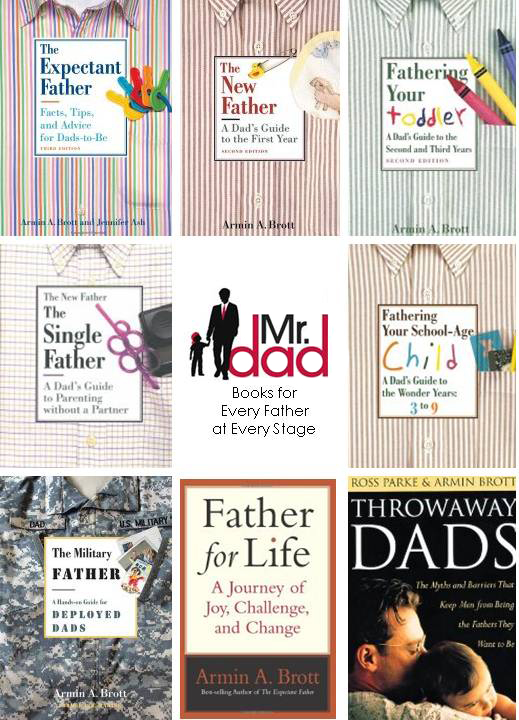Mr. Dad Has Books for Every Kind of Dad