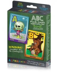soa - alphabet flashcards