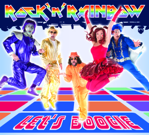 let's boogie rock 'n' rainbow