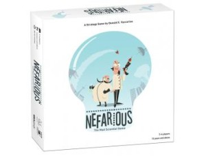 usaopoly nefarious - mad scientist game