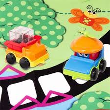 silly sensory vehicle play mat