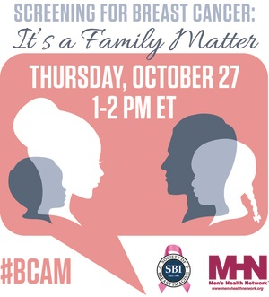 Webinar: Screening for Breast Cancer Is a Family Matter